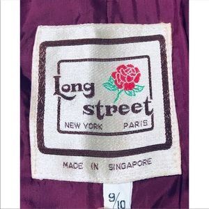long street Jackets & Coats - Long Street Ladies Corduroy dress jacket